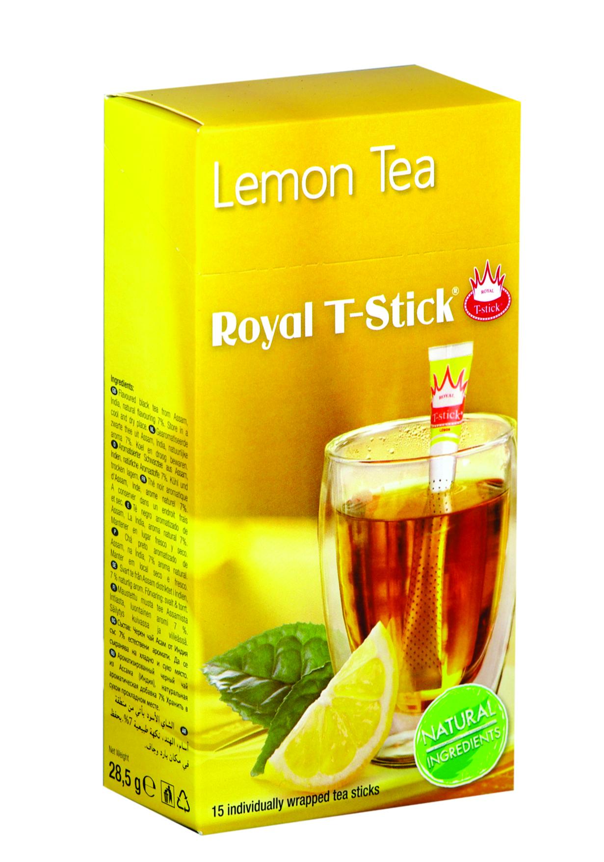 Чаени пръчици Лимон