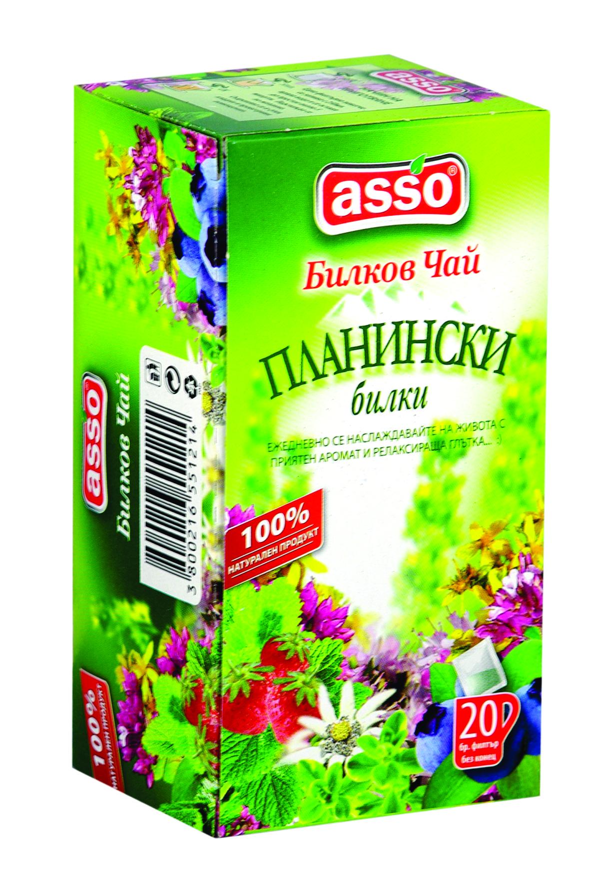 Билков чай Планински билки