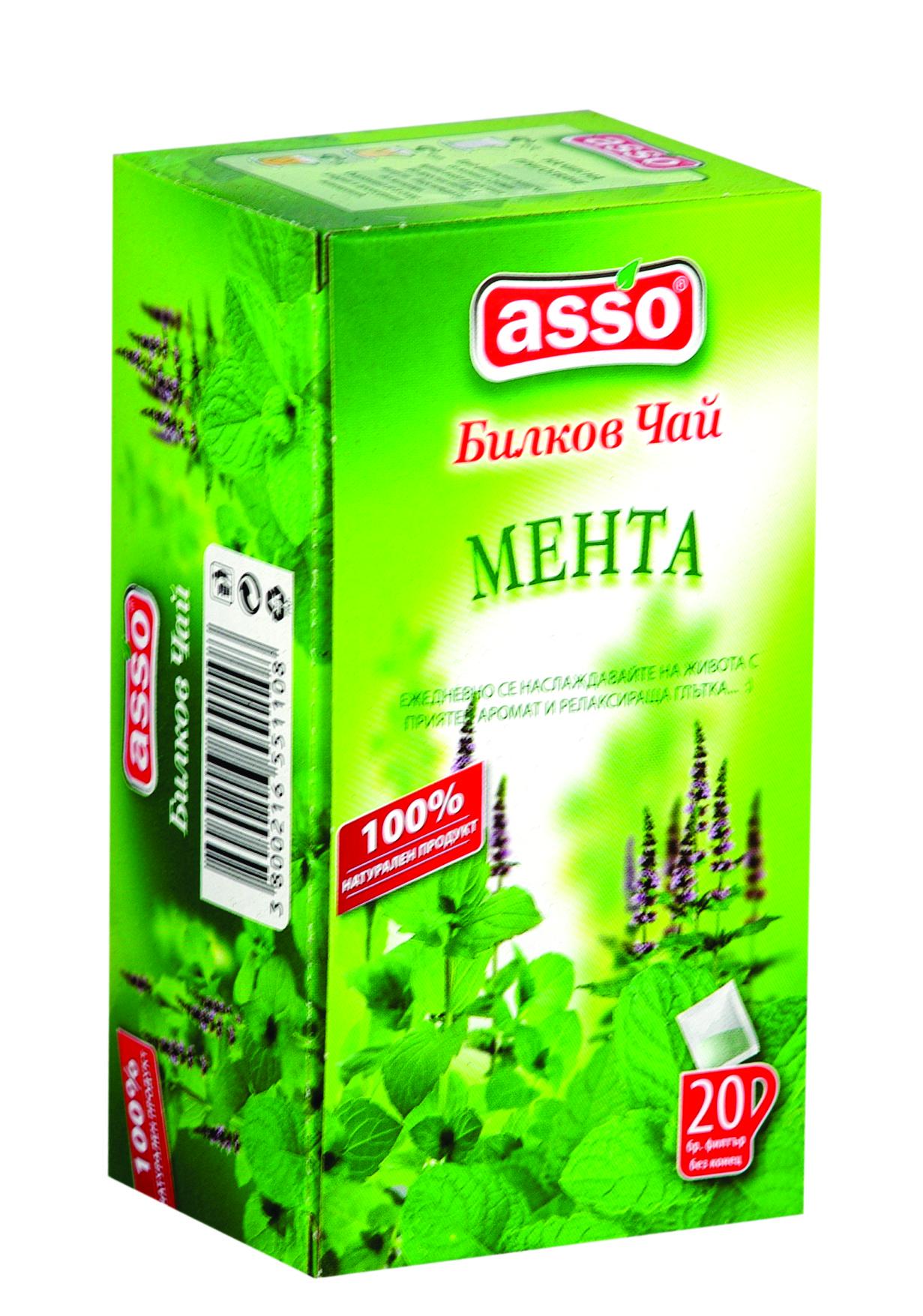 Билков чай Мента