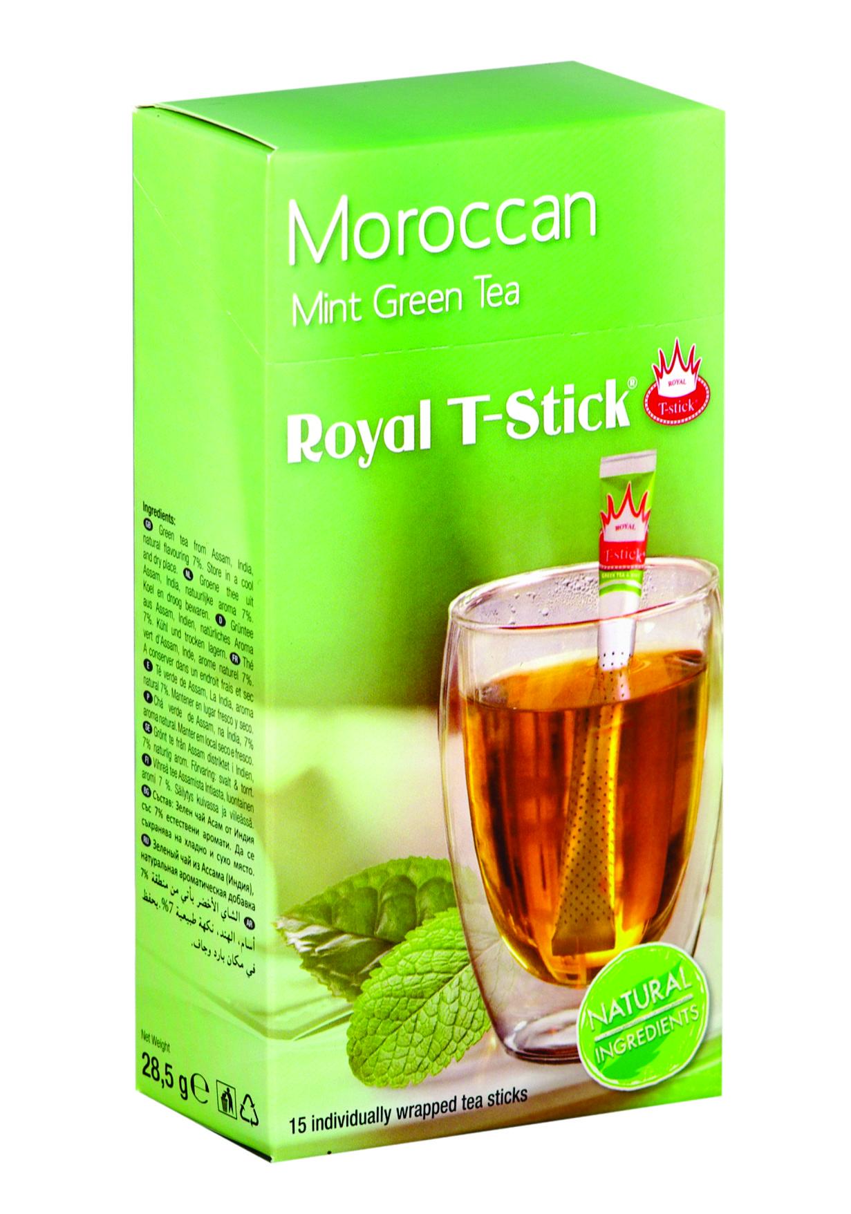 Чаени пръчици Мента със зелен чай